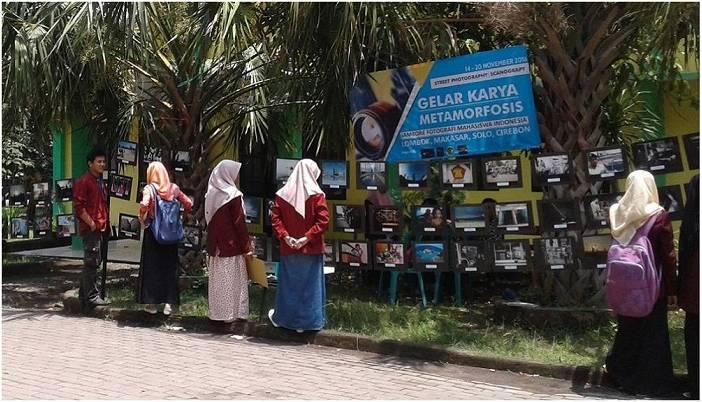 Mahasiswa Ilmu Komunikasi Yudharta Menggelar Karya Pameran Fotografi