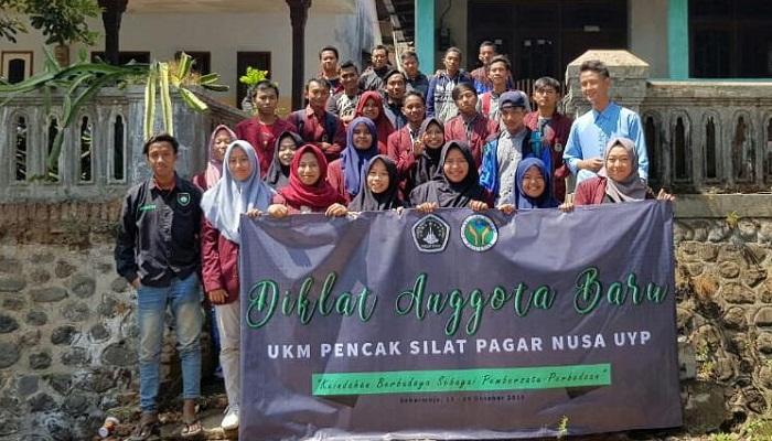Diklat Anggota Baru UKM Pencak Silat Pagar Nusa